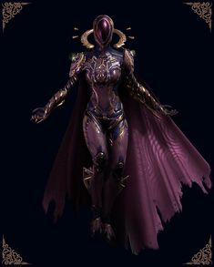 Warframe is a free-to-play action role-playing third-person shooter multiplayer online game. Warframe Mag, Warframe Prime, Character Concept, Character Art, Concept Art, Fantasy Armor, Dark Fantasy, Fantasy Inspiration, Character Design