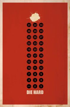 Alternative Die Hard Posters - Films - ShortList Magazine
