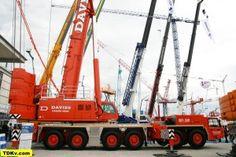 Tadano crane ATF 400G-6 for Davies Crane Hire on Bauma 2013