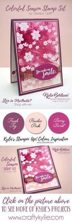 Stampin' Up! Colorful Seasons, Kylie Bertucci