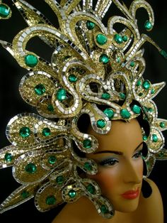 gold headress - Google Search
