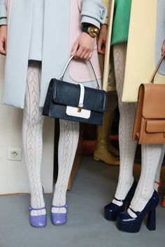 Miu Miu Spring Summer 2014 Backstage #fashion