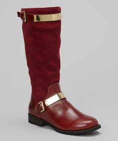 Take a look at this Oxblood Banded Philip Boot on zulily today!