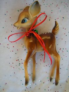 Sweet Vintage Deer Figurines