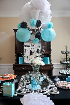 Breakfast at Tiffanys Inspired Bridal Shower | The Sassy Snapper @Erin B Hennelly !