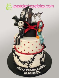 Pastel de Jack y el Cadáver de la Novia Jake Cake, Jack Y Sally, Pasteles Halloween, Brithday Cake, Jack Skellington, Tim Burton, Beautiful Cakes, 18th, Bedrooms