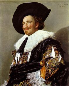 Hals, Frans (1582/3 - 1666). Dutch painter.   The Laughing Cavalier  1624; Oil on canvas, 86 x 69 cm; The Wallace Collection, London