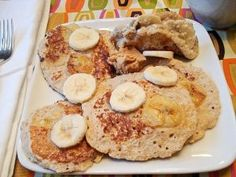 healthy cheese danish pancakes, sounds yummy!