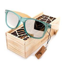 3e8c2eec4 BOBO BIRD Brand Luxury Men and Women Polarized Sunglasses Bamboo Wood  Holder Sun Glass with Tortoise