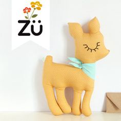 Adorable little softies from Zu.