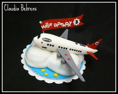 airplane cake - claudia behrens by Claudia Behrens ~ Cakes, via Flickr