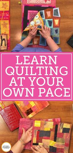 Get expert quilting tips & tricks for free! Improve your quilting skills and projects with the free National Quilters Circle newsletter. Learn from the pros! Quilting 101, Quilting Tutorials, Machine Quilting, Quilting Projects, Quilting Designs, Quilting Patterns, Quilting Ideas, Hand Quilting, Beginner Quilt Patterns