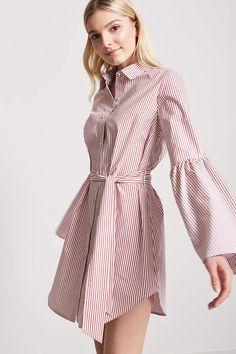 Product Name:Pinstripe Shirt Dress, Category:Dresses, African Print Fashion, Asian Fashion, Boho Fashion, Fashion Dresses, Cotton Long Dress, Long Shirt Dress, Cotton Dresses, Monday Outfit, Maxi Styles