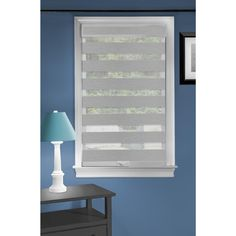 Achim Celestial Sheer Shade Grey Light Filtering Cordless Roller Shade (Actual: x at Lowe's. The celestial cordless window shade features a light filtering, attractive double-layered sheer design. This attractive modern shade gently filters light Sheer Shades, Shades Blinds, Zebra Shades, Robin, Blinds Design, Light Filter, Roller Shades, Roller Blinds, Blinds For Windows