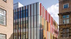 Colorful Sunshades - Oxford Biochemistry Building