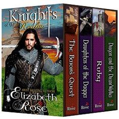 Top 100 Amazon Bestselling and Award-Winning Author  Medieval Sampler – First Books in a Series.  This set includes the following titles by Elizabeth Rose:  The Baron's Quest – Book 1 (Barons of the Cinque Ports Series)  Muriel Draper is a spinster – a woman who spins wool. She is forced to take a job as a personal clothier to the Baron of New Romney, Lord Nicholas Vaughn, in order to pay back her late father's debt....