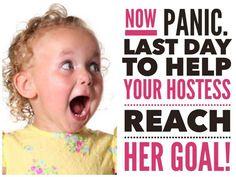 help hostess reach goal!