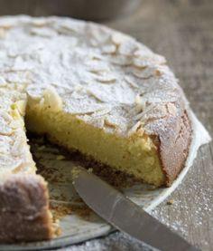 Torta Limone Ricotta e Mandorle Senza Farina