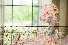 Design & Coordination: Uptown Weddings & Events;                                            Photography by Jonathan Ivy Photography; Flowers by Striking Stems