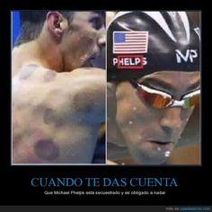 pHELP ME PLEASE - Que Michael Phelps está secuestrado y es obligado a nadar
