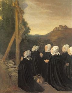 """Alphonse Legros - """"Le calvaire""""  1874 Musée d'Orsay"""