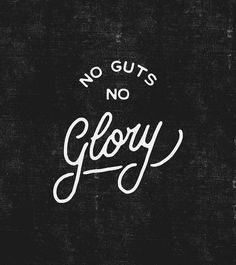 No guts, no glory... so trust your intiution if you want to be happy and succesfull