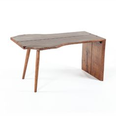 Butterfly Desk Inspired by George Nakashima