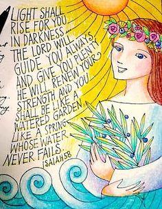 INCREDIBLE artwork!!! Beautiful verses- Print and Post around house???