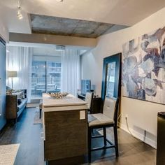 Welcome To This Stunning Loft Located At The Building In The Coveted King West Neighbourhood! This Beautiful Rooftop Terrace, The Neighbourhood, Bbq, Condo, Dining Room, Loft, Stainless Steel, King, Bedroom
