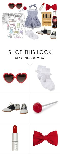 """""""Nymphet Essentials"""" by xoxbayleexox ❤ liked on Polyvore featuring John Lewis, Fred and American Apparel"""