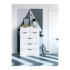NORDLI Chest of 7 drawers, white - 80x120 cm - IKEA £165