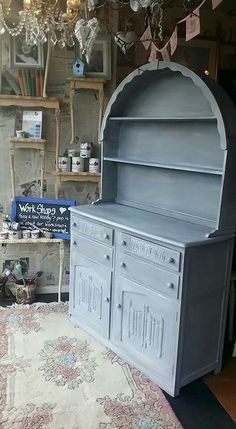 Painted in Frenchic Lady Grey with white wax absolutely stunning Vintage Shabby Chic, Shabby Chic Homes, Paint Furniture, Furniture Makeover, Vintage Dressers, Absolutely Stunning, Beautiful, Lady Grey, Upcycled Furniture
