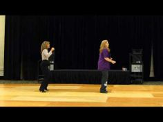 Let's Get It Poppin' Line Dance Demo @Judy Grimes - YouTube