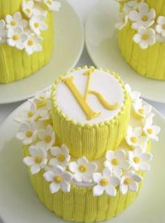 little yellow cakes