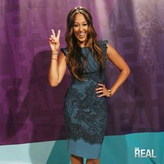 The Real: Outfits from the Show - Tamera Mowry Work Fashion, Modest Fashion, Fashion Beauty, Oscars 2017 Red Carpet, Tia And Tamera Mowry, Daytime Outfit, Beautiful Outfits, Cute Dresses, Celebrity Style
