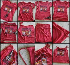 Transform A Sports T-Shirt Into A Cute Tank Top | A Spotted Pony