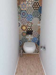 Tile ideas to spice up a tiny bathroom