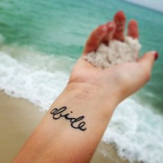 "Cute wrist tattoo ""As the Father has loved me, so I have loved you. Abide in my love "" John 15:9"