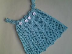 Vestido verano bebita a crochet 1ª parte #tutorial #diy - YouTube