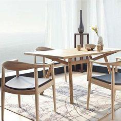 Replica Hans Wegner Round Chair Ash by Hans Wegner - Matt Blatt