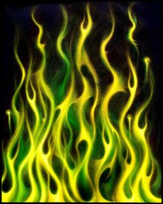 Green Gold by hardart-kustoms art flames in the fire by hardart-kustoms on DeviantArt Ed Wallpaper, Orange Wallpaper, Aesthetic Iphone Wallpaper, Aesthetic Wallpapers, Skull Wallpaper, Dark Fantasy Art, Flame Tattoos, Motorcycle Paint Jobs, Colors Of Fire