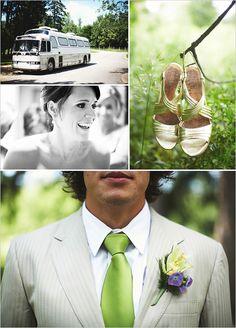 lime green wedding ideas