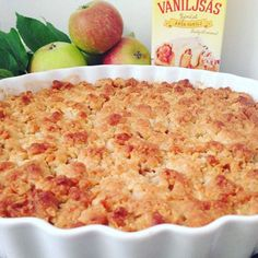 Knäckig äppelpaj – recept