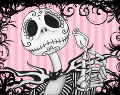 Jack Skellington Day of The Dead