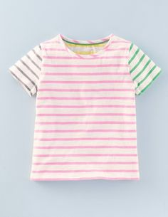 Stripy Hotchpotch T-shirt