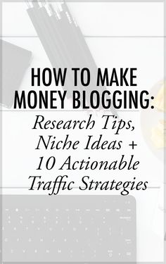 Are you a blogger looking for more ways to make money online? In this post, Jerry will share some tips on how to monetize your blog, tips on how  to do your research, niche ideas and actionable traffic strategies that will help you earn money via blogging. Money Making Ideas www.makesellgrow.com#blog