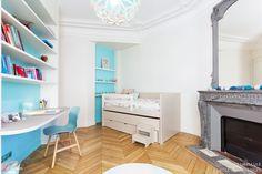 Décoration d'une chambre de fille, Paris, Coralie Vasseur - décorateur d'intérieur