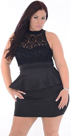 Charming Plus Black Great Glam is the web s best plus size