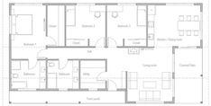 Home Plan CH495