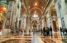 Construction of Saint Peter's was started in 1506 and was finished in 1626